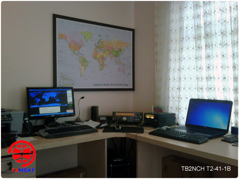 TAMSAT (T2-41-1B) İzleme İstasyonu