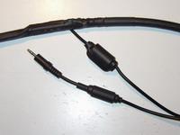 Kablonun ferit yüksükle son  hali