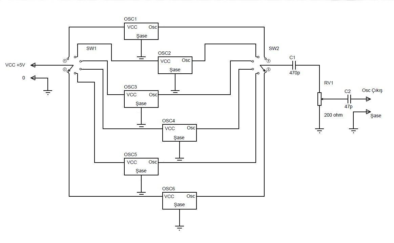 Sinyal kaynağı devre şeması