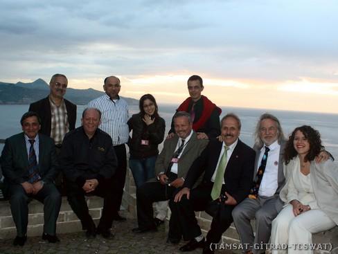 Giresun Kalesi'nde gün batımında dostlar ile birlikte.