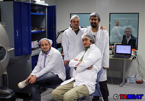 Baris (TA7W), ITU-USTTL Test Team and Tahir (TA2T).