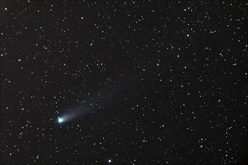 Resim. Lovejoy Kuyrukluyıldızı.