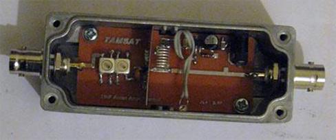 Resim-TAMSAT AR-GE çalışmaları sırasında geliştirilen bir başka anten önyükselteci.