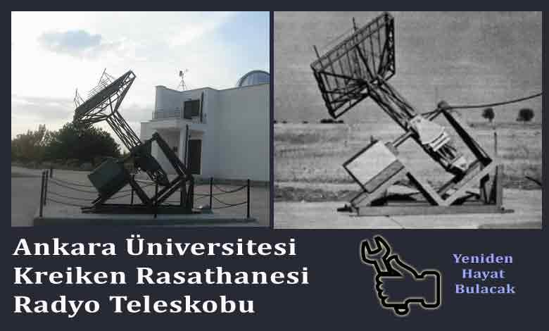 Photo of Kreiken Rasathanesi'ndeki Radyo Teleskop  Anteni Mekanizmasının İncelenmesi